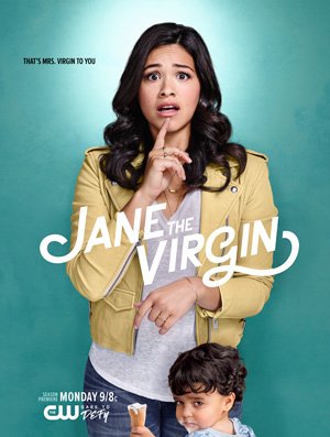 Jane the Virgin season 3 poster The CW channel