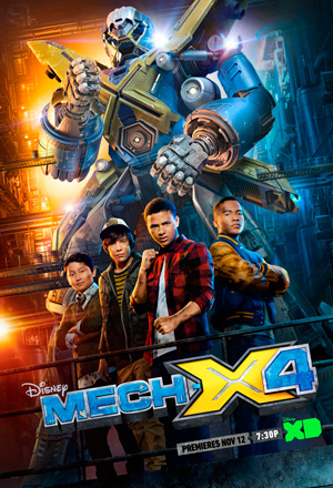 Mech X4 season 1 poster DisneyXD channel
