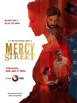 Mercy Street season 1 poster PBS channel