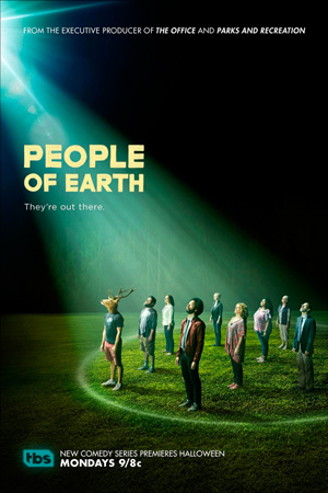 People of Earth season 1 poster TBS channel