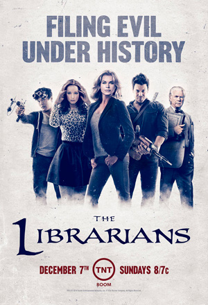 The Librarians season 1 poster TNT channel