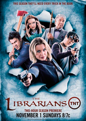 The Librarians season 2 poster TNT channel