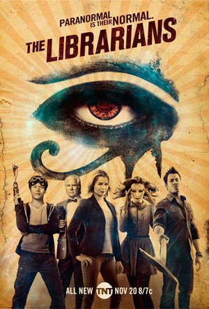 The Librarians season 3 poster TNT channel