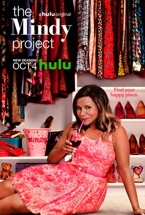 The Mindy Project season 5 poster Hulu channel