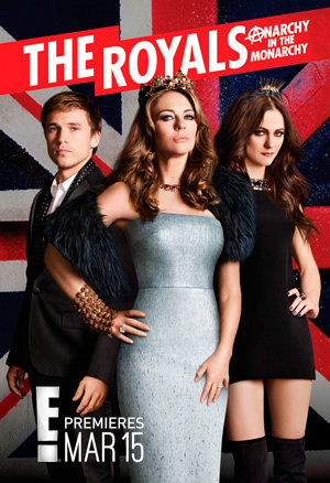 The Royals season 1 poster E! channel