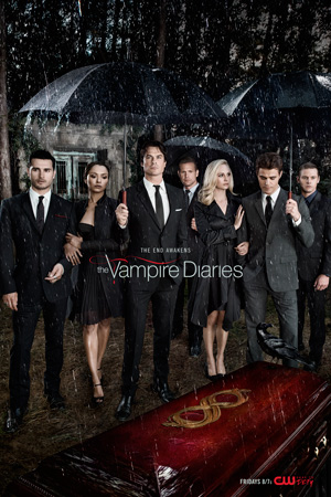 The Vampire Diaries poster season 8 The CW channel