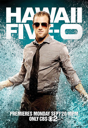 Hawaii Five-0 season 1 poster CBS channel