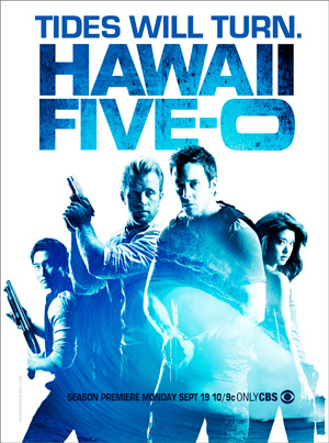 Hawaii Five-0 season 2 poster CBS channel