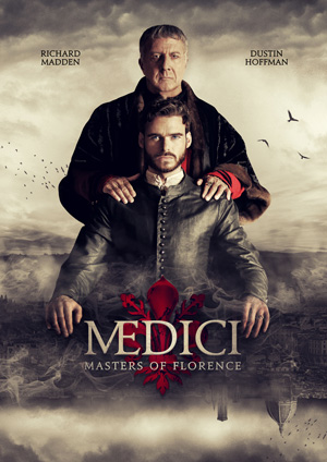 Medici Masters of Florence season 1 poster RAI channel