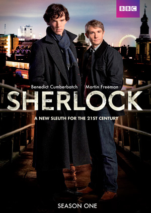 Sherlock season 1 poster BBC One channel