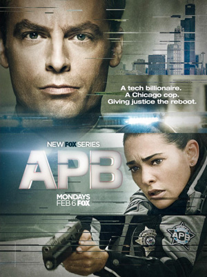 APB poster season 1 FOX channel