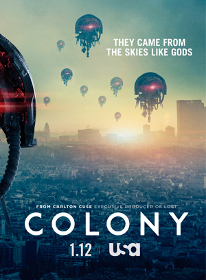 Colony season 2 poster USA Network
