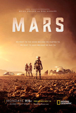 Mars poster season 1 National Geographic channel