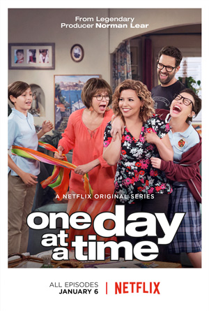 One Day at a Time season 1 poster Netflix channel