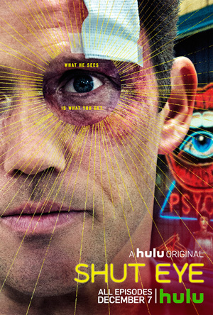Shut Eye season 1 poster Hulu channel