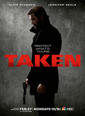 Taken season 1 poster NBC channel