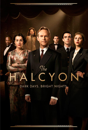 The Halcyon season 1 poster ITV channel
