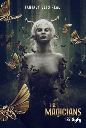 The Magicians season 2 poster Syfy channel