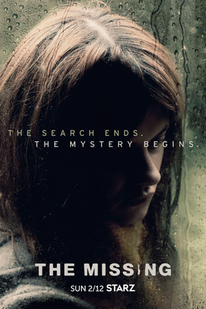 The Missing season 2 poster Starz channel