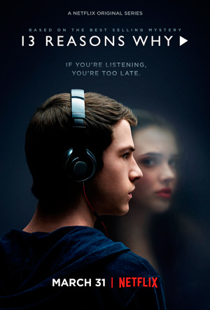 13 Reasons Why season 1 poster Netflix channel