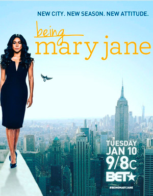 Being Mary Jane season 4 poster BET channel
