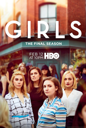 Girls season 6 poster HBO channel