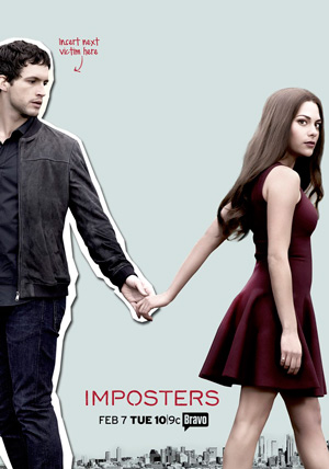 Imposters season 1 poster Bravo channel