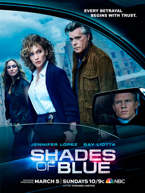 Shades Of Blue season 2 poster NBC channel