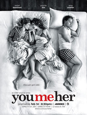 You Me Her season 2 poster DirecTV channel