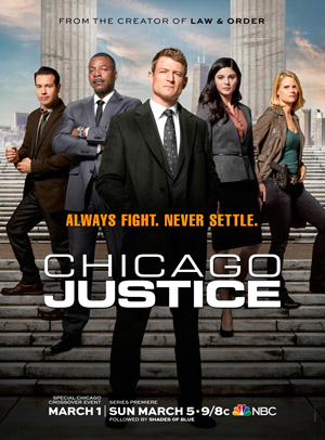Chicago Justice NBC channel
