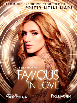 Famous in Love season 1 poster Freeform channel