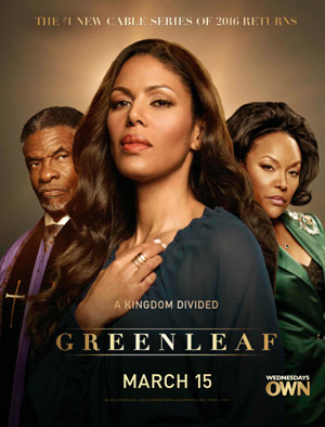 Greenleaf season 2 poster OWN