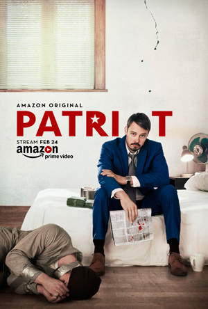 Patriot season 1 poster Amazon