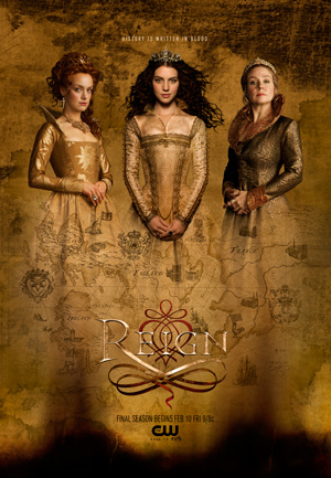 Reign season 4 poster The CW channel