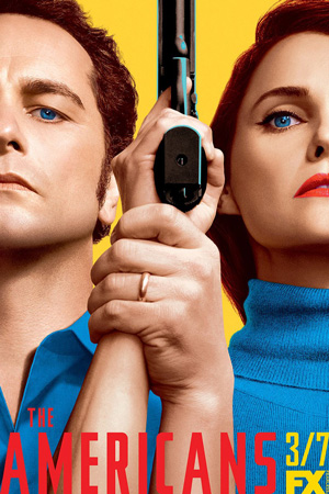 The Americans season 5 poster FX channel