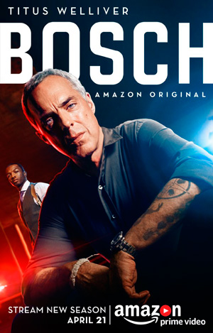 Bosch season 3 poster Amazon Video