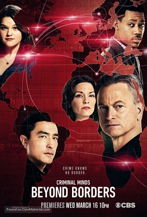 Criminal Minds Beyond Borders season 1 poster CBS channel