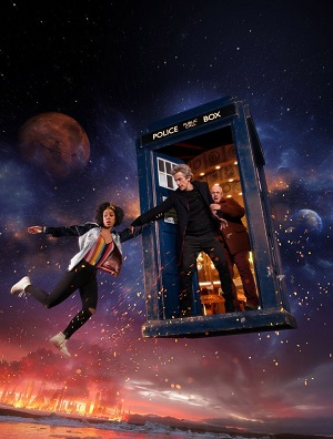 Doctor Who season 10 poster BBC One channel