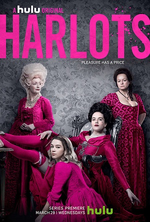 Harlots season 1 poster Hulu channel