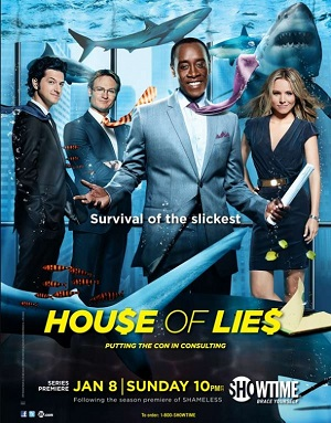 House of Lies season 1 poster Showtime channel