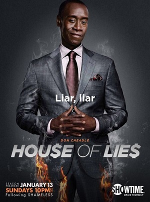 House of Lies season 2 poster Showtime channel