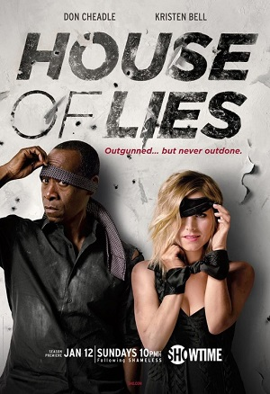 House of Lies season 3 poster Showtime channel