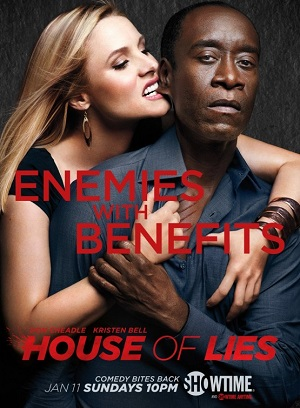 House of Lies season 4 poster Showtime channel