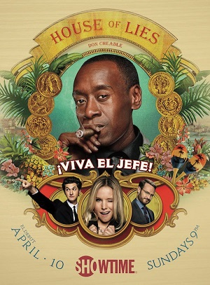 House of Lies season 5 poster Showtime channel