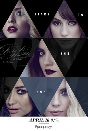 Pretty Little Liars season 7 poster Freeform channel