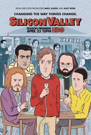 Silicon Valley season 4 poster HBO channel
