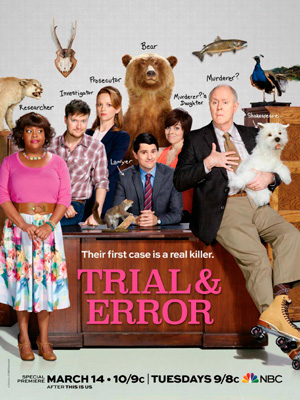 Trial and Error season 1 poster NBC channel