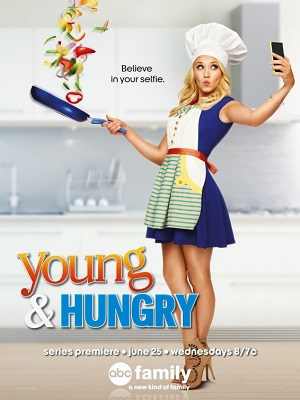Young & Hungry season 1 poster Freeform channel