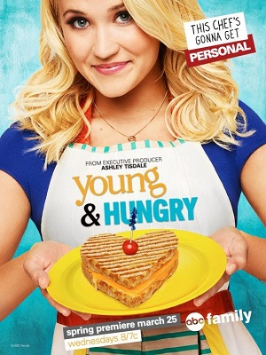Young & Hungry season 2 poster Freeform channel