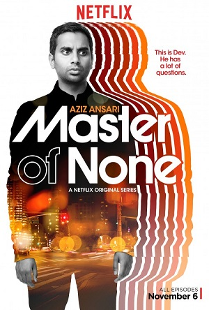 Master of None season 1 poster Netflix channel